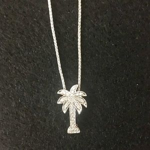 Jewelry - 14ct white Gold Diamond Necklace